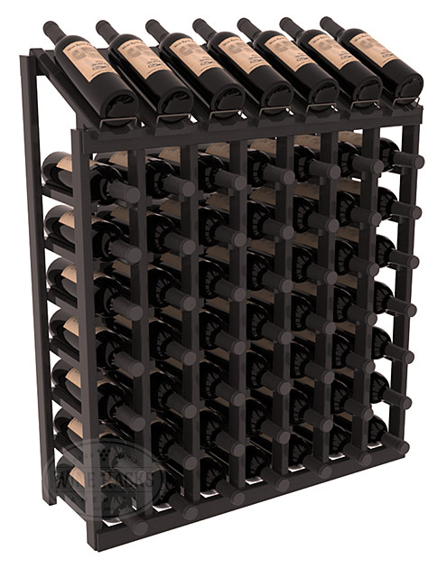 Instacellar 7 X 8 Display Top Wine Rack Solid Wood
