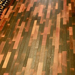 infusion wine barrel floors