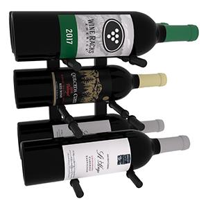 Horizontal 1 Ft Double Deep Wine Rack