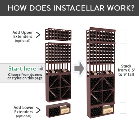 Instacellar By Wine Racks America Quality Wood