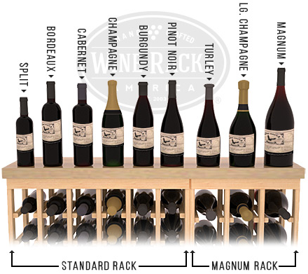 Wine Bottle Size Chart Store All Bottle Types Wine