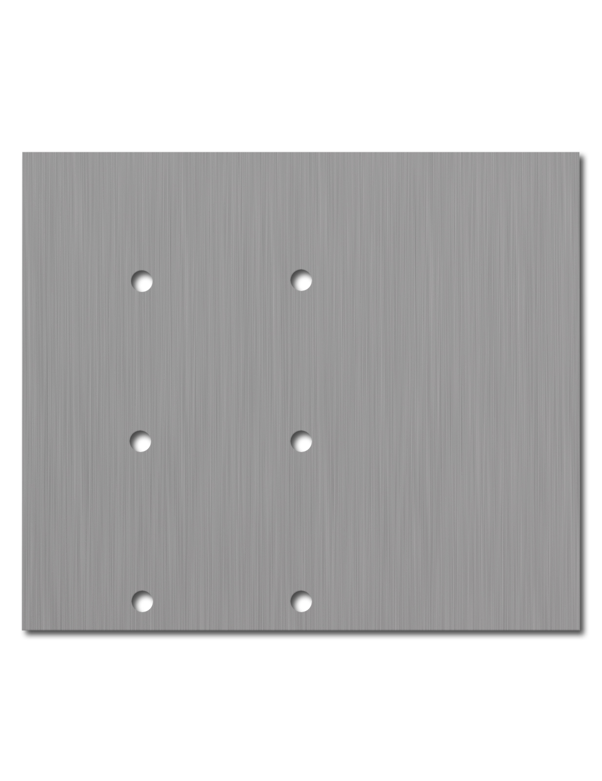 Fusion Panel Label Out Faceplate