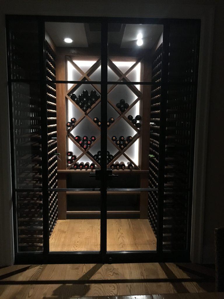 Wine Cellar Doors In Solid Bronze Nexus By Wine Racks