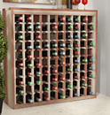 Solid wood furniture style wine racks
