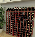 Wood wine racks for homes