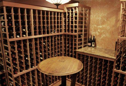 Double Deep Wine Rack